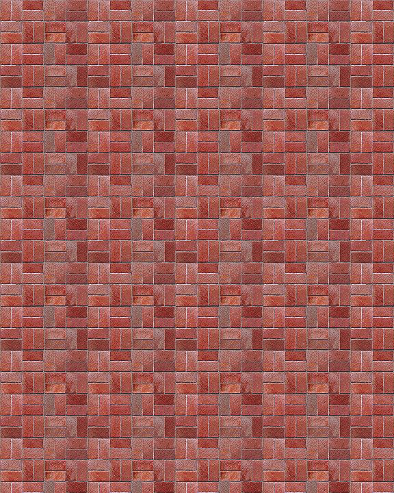 Brick dollhouse wallpaper 013