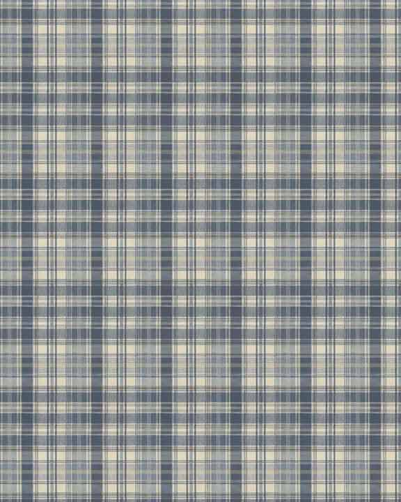 Checks dollhouse wallpaper 011