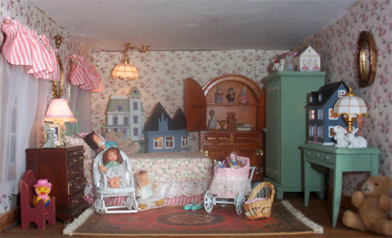 welcome to the dollhouse second floor